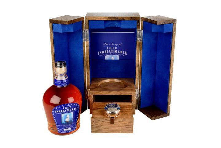 bespoke whisky packaging 1812 indefatigable