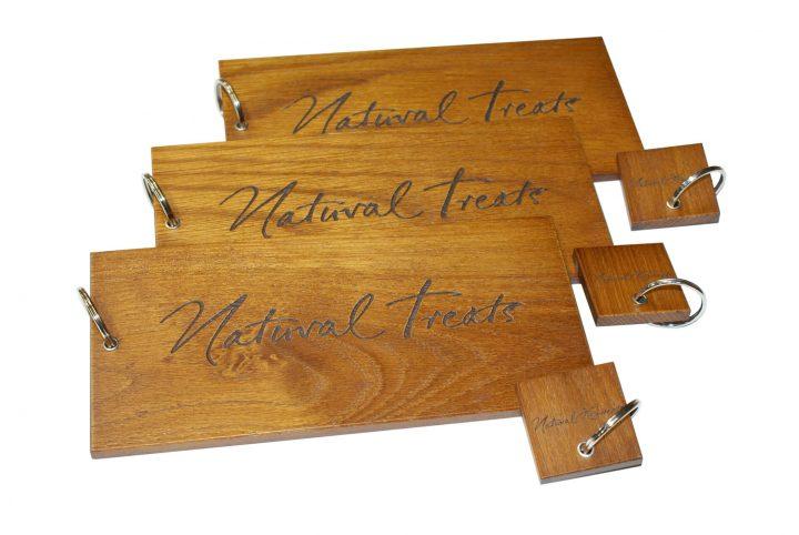 bespoke wood keyring tag keyfob for promotion and branding uk