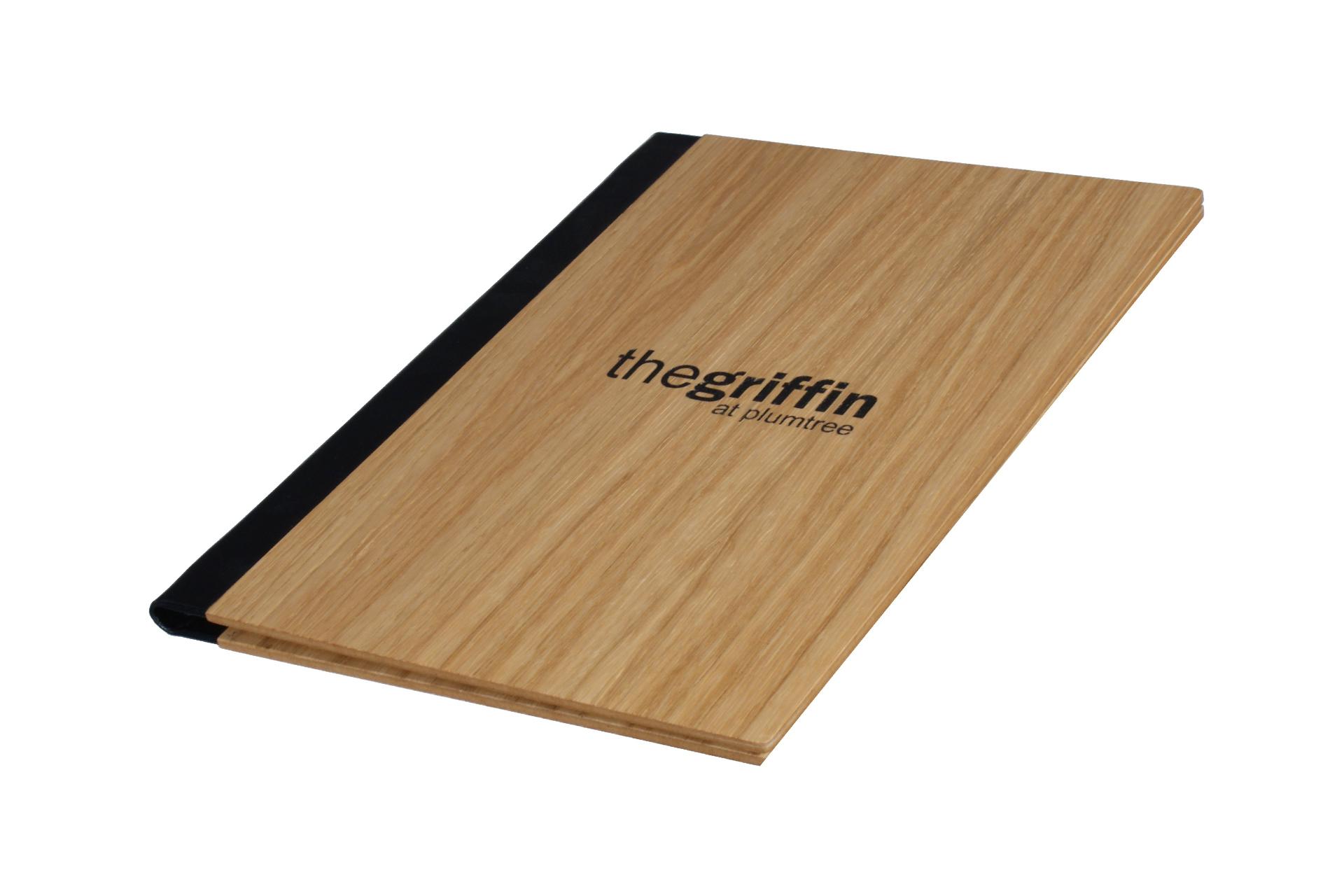 bespoke wooden folder for menus wine lists guest information folders hotels and restaurants