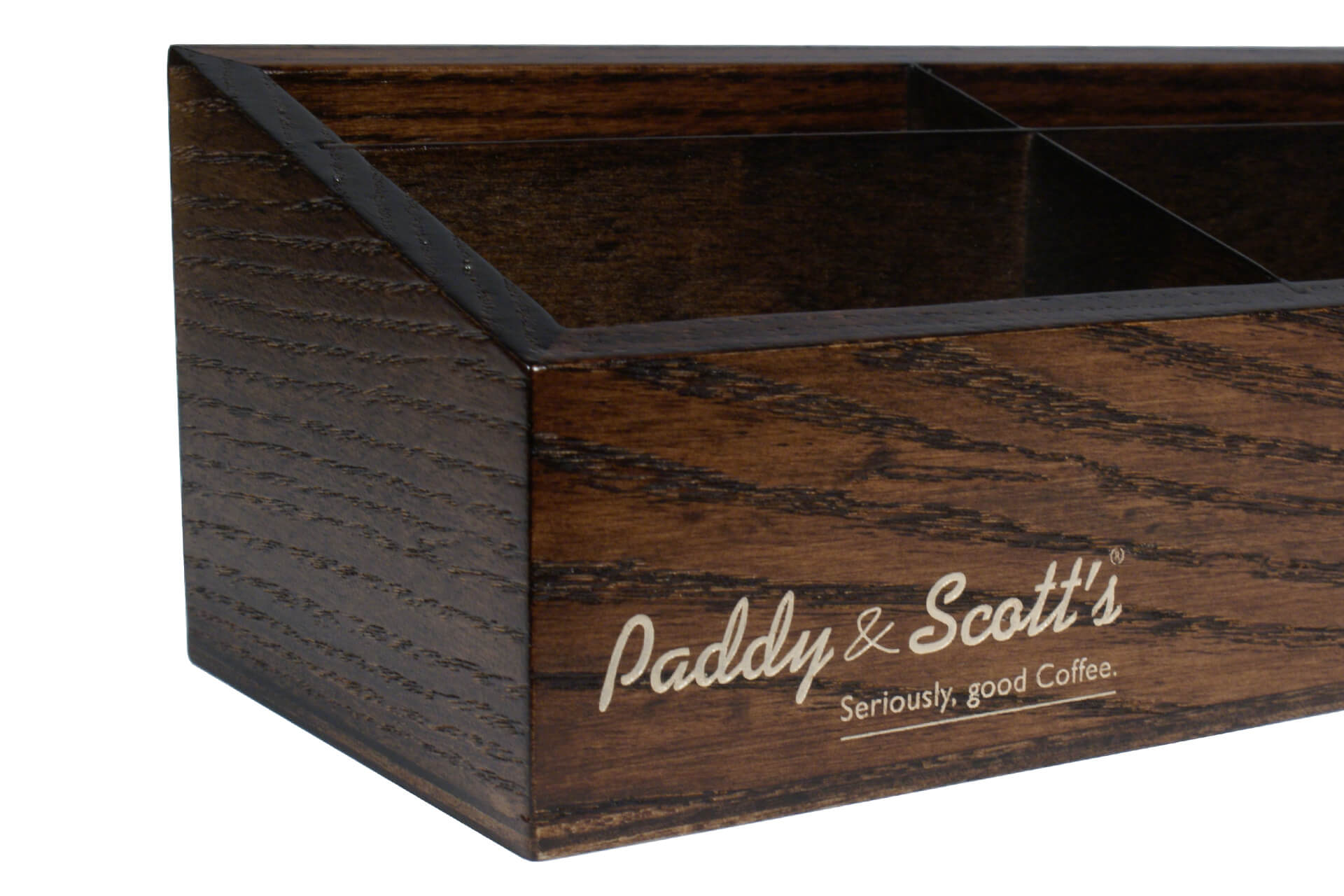 custom made wood tea tray for conference rooms and hotels