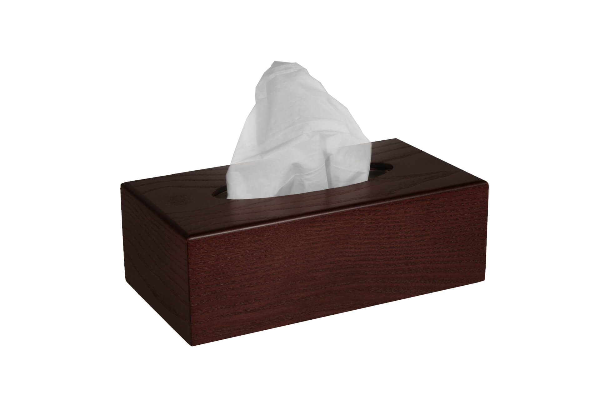 discrete wooden tissue box cover traditional wood product