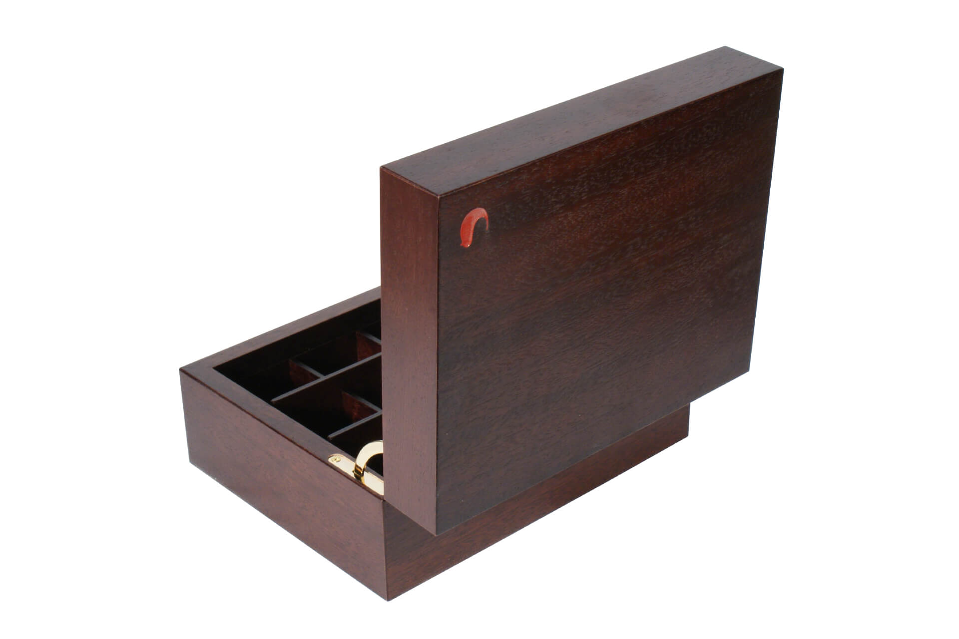 hand made wooden teabox for conference suites and hotels