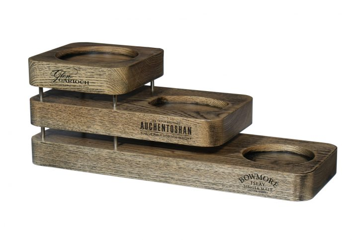 solid wood whisky bottle display for pubs bars and restaurants