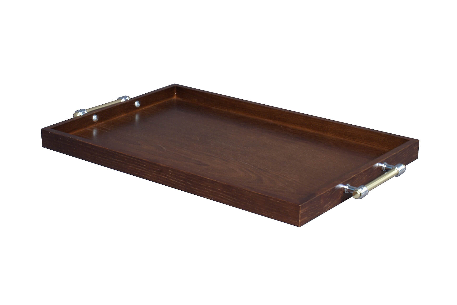 stylish bespoke wooden butler service tray for hotels and restaurants