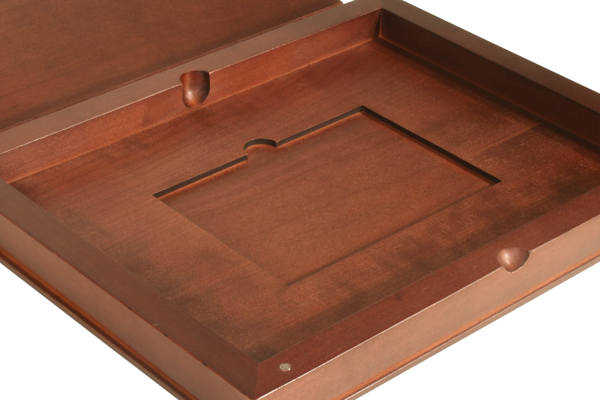 stylish wood guest information folder bespoke wooden products for hotel and presentation