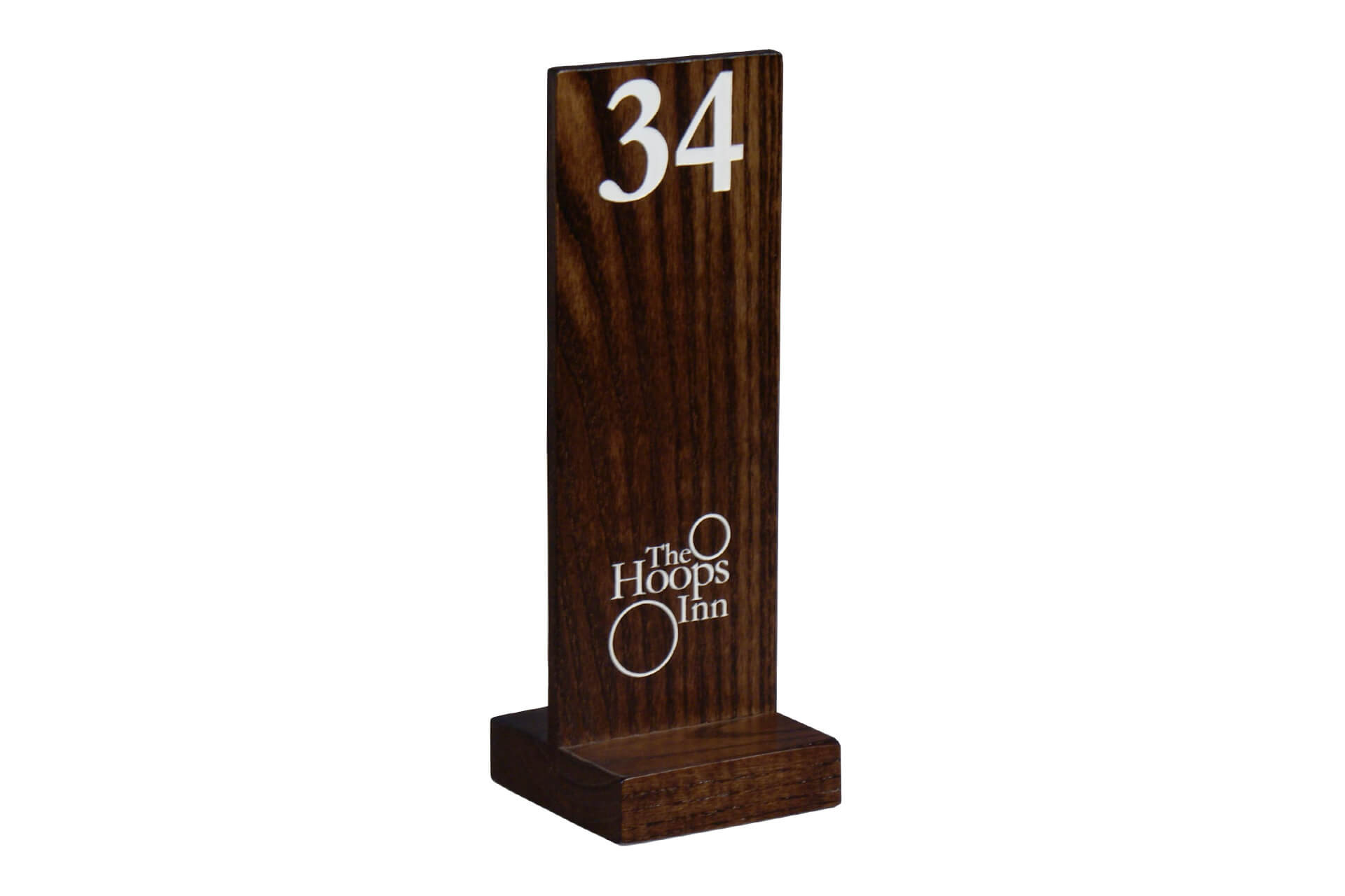 Wooden Table Numbers ~ Wooden custom table numbers moran smoran s