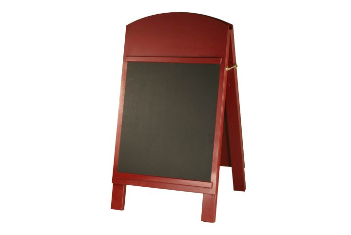 wooden a-boards pavement chalkboard h-ab351