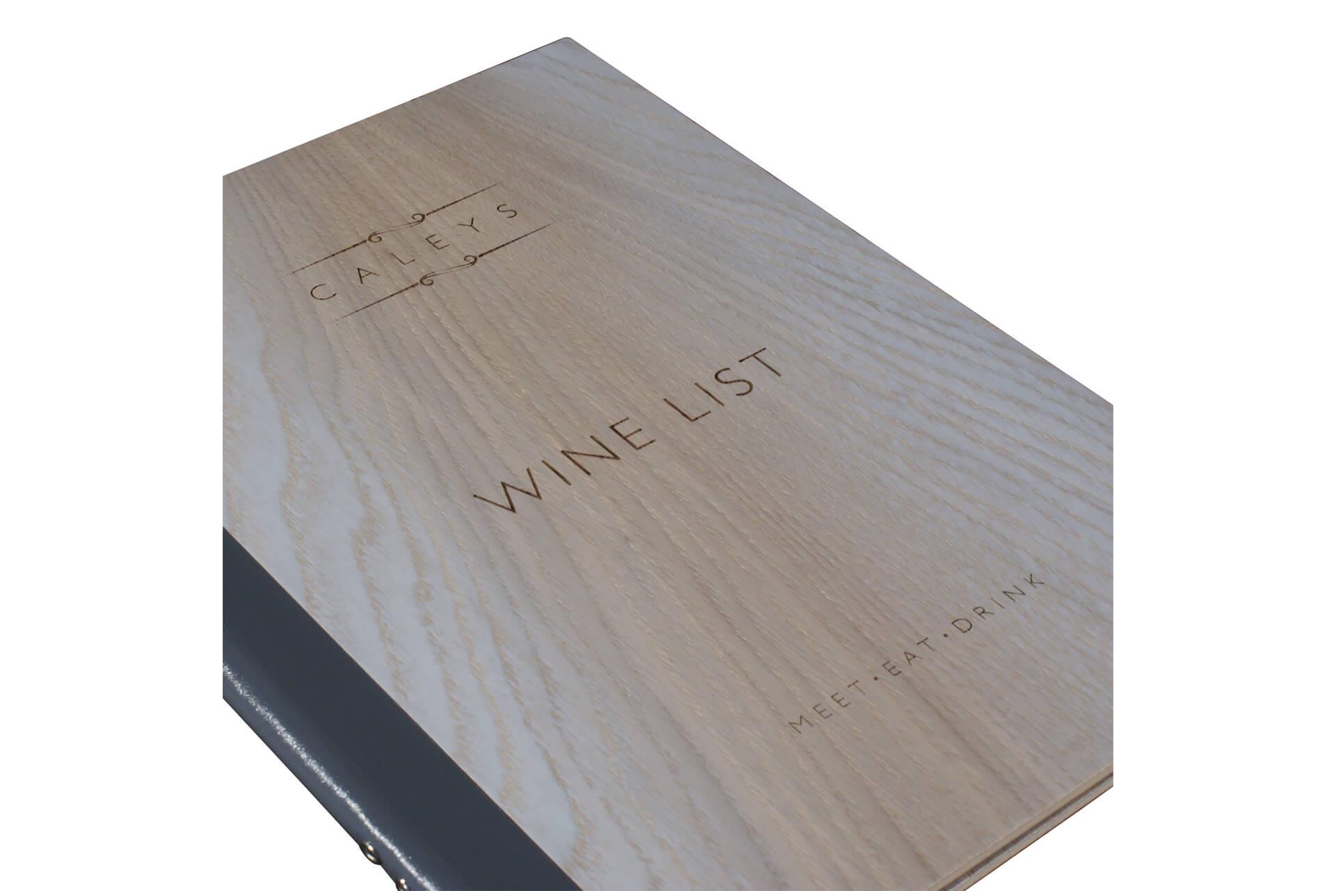 Menu And Wine List Covers Moran S Moran S