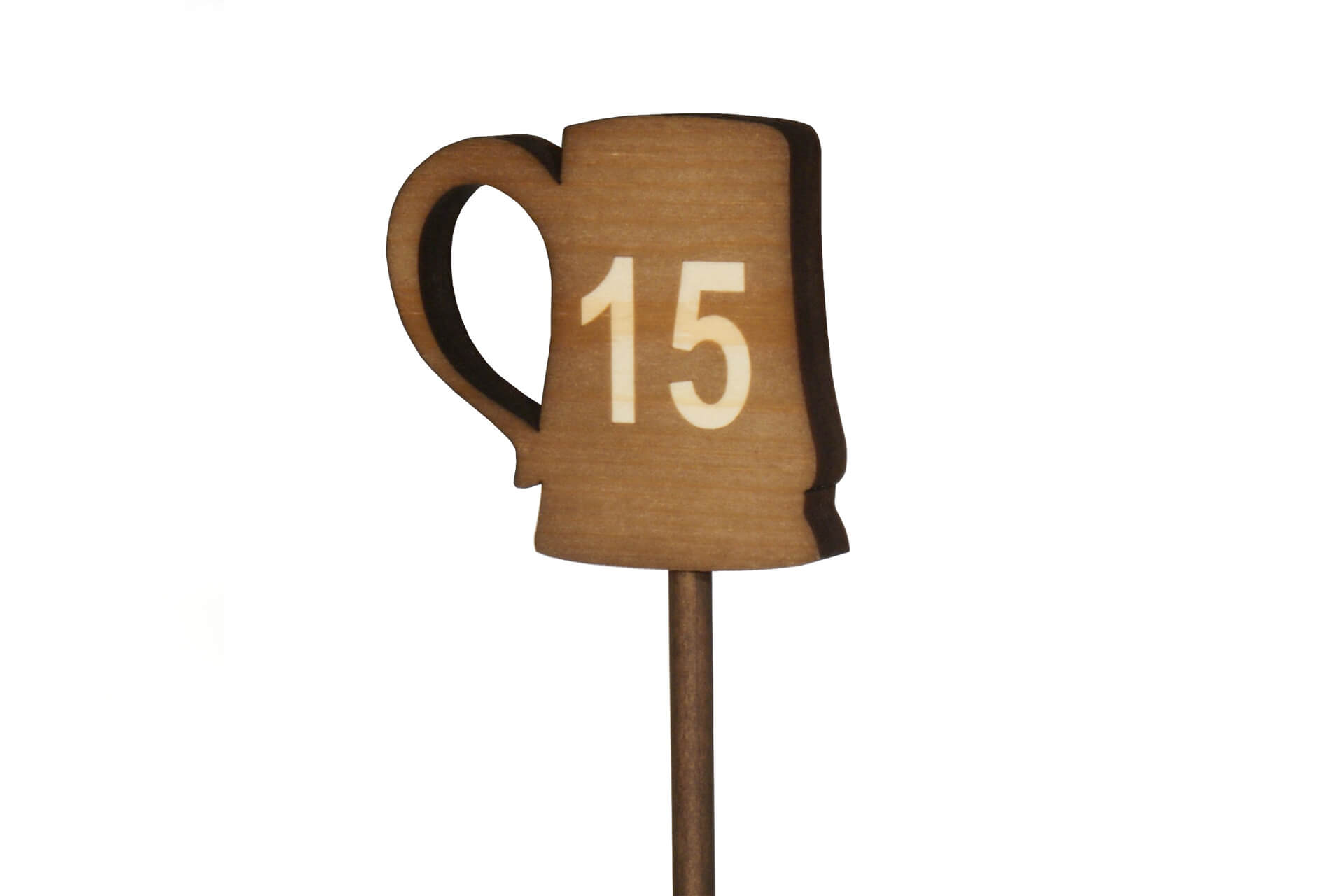 Wooden table numbers for restaurants and cafes moran 39 s for Table numbers